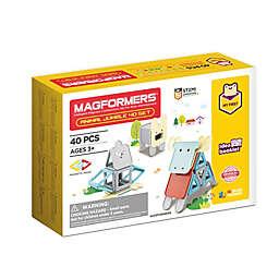 Magformers® Animal Jumble 40-Piece Magnetic Set