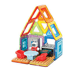 Magformers® 33-Piece Minibot Kitchen Magnetic Set