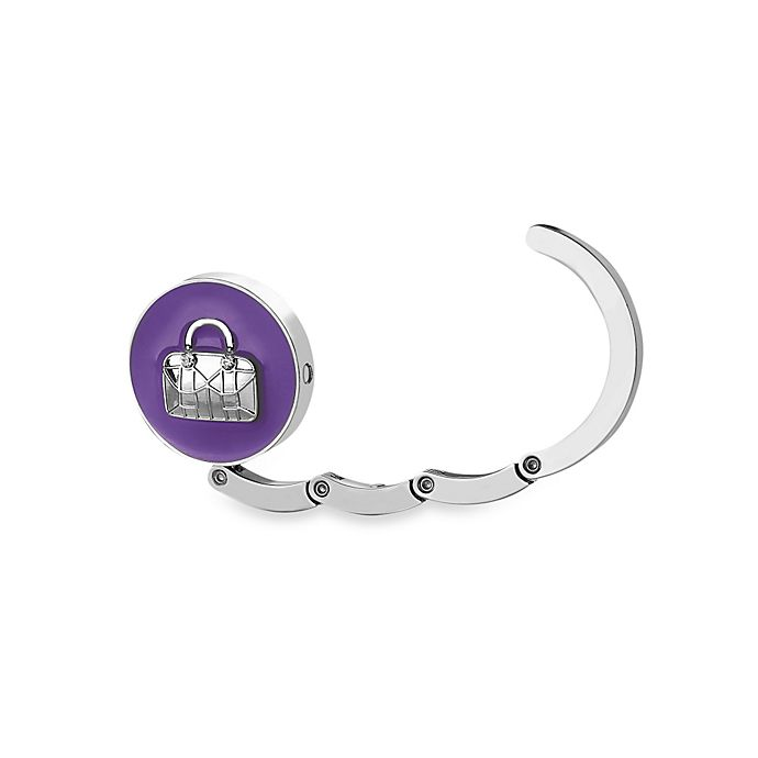 Alternate image 1 for Conair® Travel Smart® Purple Bag Hanging Purse Hook