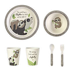 Precious Moments® Sloth 5-Piece Toddler Mealtime Set