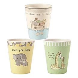 Precious Moments® Noah's Ark Animals 3-Pack Cup Set