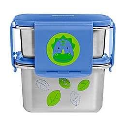 SKIP*HOP® Zoo 2-Piece Dino Stainless Steel Lunch Kit