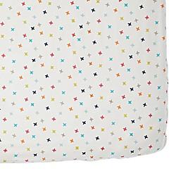 Pehr Rainbow Jacks Fitted Crib Sheet