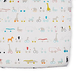 pehr Pull Toys Fitted Crib Sheet