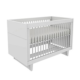 little guy comfort Fino Children's 3-in-1 Convertible Crib in White