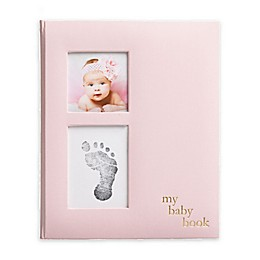Pearhead® Baby Memory Book and Clean-Touch Ink Pad in Pink
