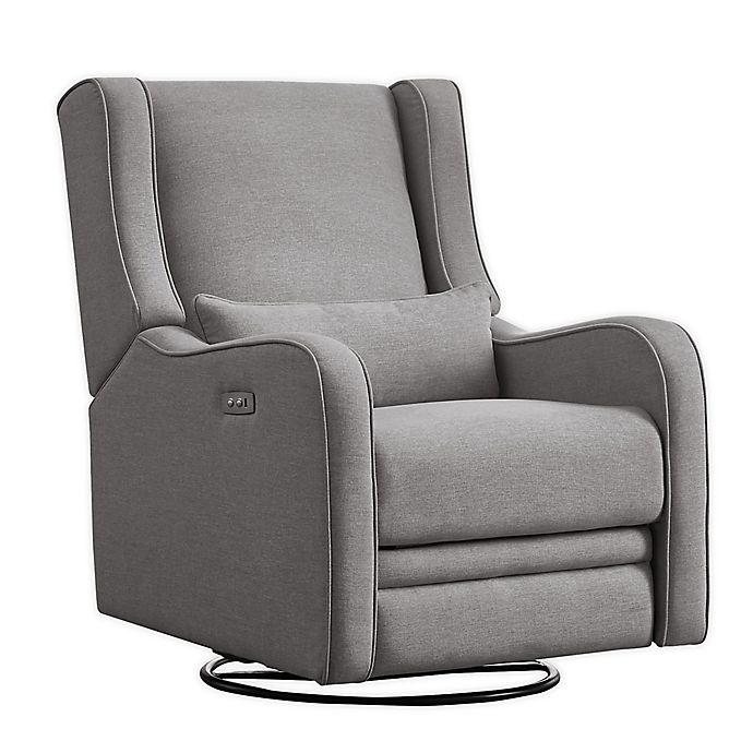 Alternate image 1 for Westwood Design Elsa Swivel Power Glider in Harbor