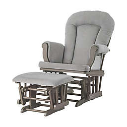 Child Craft™ Forever Eclectic™ Glider with Ottoman in Grey