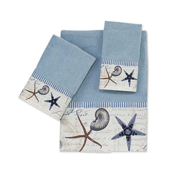 Alternate image 1 for Avanti Antigua Blue Fog Bath Towel Collection