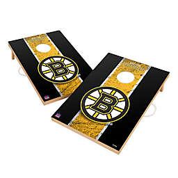 NHL Boston Bruins Gameday Solid Wood Cornhole Set