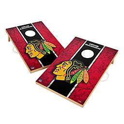 NHL Chicago Blackhawks Gameday Solid Wood Cornhole Set