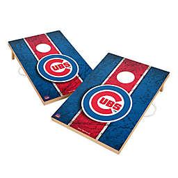 MLB Chicago Cubs Gameday Solid Wood Cornhole Set