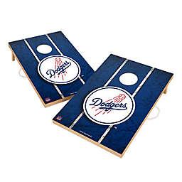 MLB Los Angeles Dodgers Gameday Solid Wood Cornhole Set