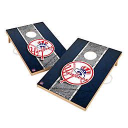 MLB New York Yankees Gameday Solid Wood Cornhole Set