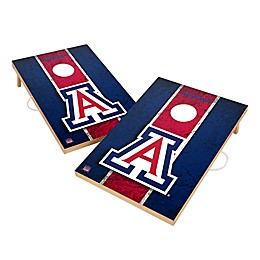 University of Arizona Gameday Solid Wood Cornhole Set