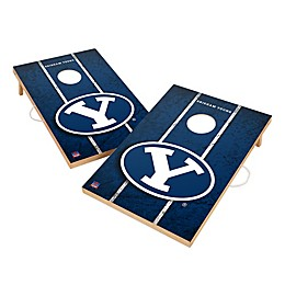 Brigham Young University Gameday Solid Wood Cornhole Set