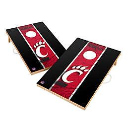 University of Cincinnati Gameday Solid Wood Cornhole Set