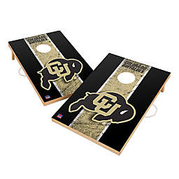 University of Colorado Gameday Solid Wood Cornhole Set