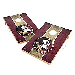 Florida State University Gameday Solid Wood Cornhole Set