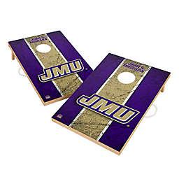 James Madison University Gameday Solid Wood Cornhole Set