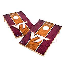 Virginia Tech Gameday Solid Wood Cornhole Set