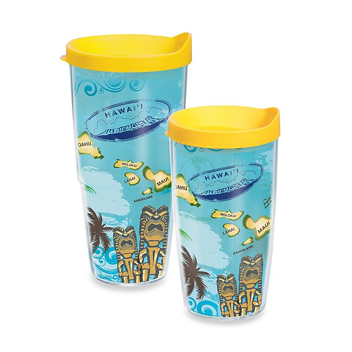 Alternate image 1 for Tervis® Hawaiian Isle Wrap Tumbler with Lid
