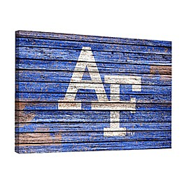 United States Air Force Academy Weathered 18-Inch x 24-Inch Canvas Wall Art