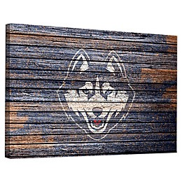 University of Connecticut Weathered Canvas Wall Art