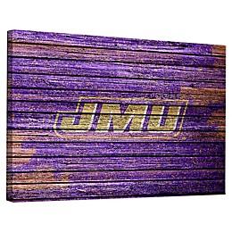 James Madison University Weathered Canvas Wall Art
