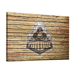 Purdue University Weathered 36-Inch x 48-Inch Canvas Wall Art