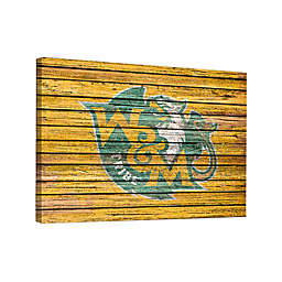 College of William & Mary Weathered 18-Inch x 24-Inch Canvas Wall Art