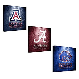 Collegiate Framed Canvas Museum Design Wall Art Collection