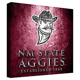 New Mexico State University Framed Canvas Museum Design Wall Art
