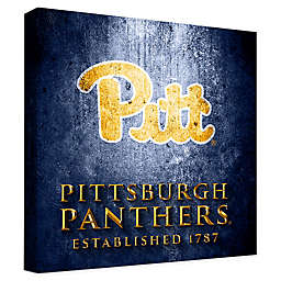 University of Pittsburgh Framed Canvas Museum Design Wall Art