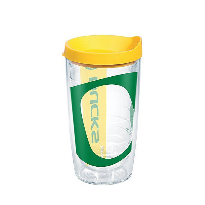 Alternate image 1 for Tervis® University of Oregon Ducks Colossal Wrap 16-Ounce Tumbler with Lid