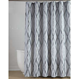 Croscill® Echo Shower Curtain in Slate Grey