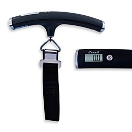 Escali® Velo 110-Pound Weight Limit Portable Luggage Scale in Black