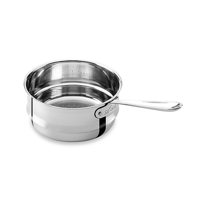 Alternate image 1 for All-Clad Stainless Steel 3 qt. Universal Steamer