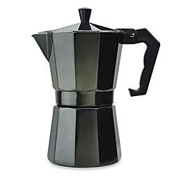 Primula® Aluminum 6-Cup PEBK-3306 Stovetop Espresso Maker in Black