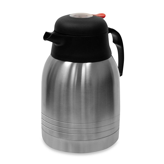 Alternate image 1 for Primula® Double Wall Stainless Steel 2-Liter Thermal Carafe with TempAssure Technology