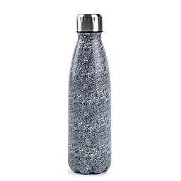 Manna™ Vogue® 17 oz. Double Wall Stainless Steel Bottle in Grey Texture Print