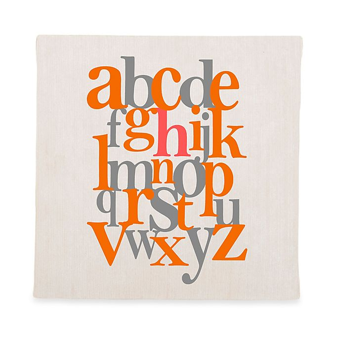Alternate image 1 for Glenna Jean Echo Alphabet Wall Art