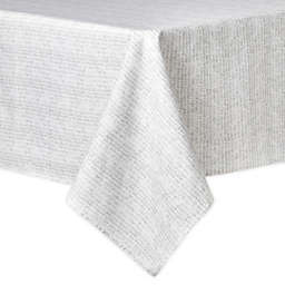 Artisanal Kitchen Supply® Crossroads 60-Inch x 102-Inch Oblong Tablecloth in Grey