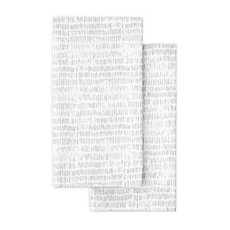 Artisanal Kitchen Supply® Crossroads Napkins in Grey (Set of 2)