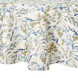 Artisanal Kitchen Supply® Organic Leaves 70-Inch Round Tablecloth