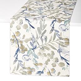 Artisanal Kitchen Supply® Organic Leaves Table Runner