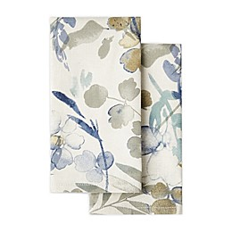 Artisanal Kitchen Supply® Organic Leaves Napkins (Set of 2)