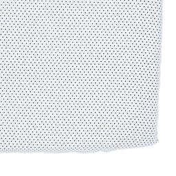 Pehr Pin Dot Fitted Crib Sheet in Navy