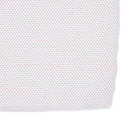 Pehr Pin Dot Fitted Crib Sheet in Fuchsia