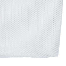 Pehr Pin Dot Fitted Crib Sheet in Grey